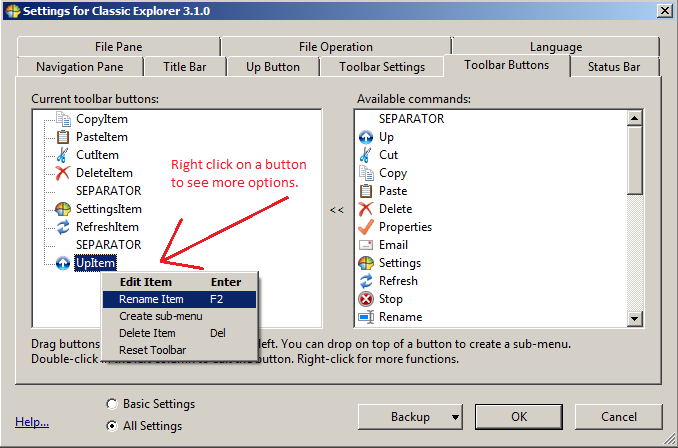 how to find language toolbar windows 7