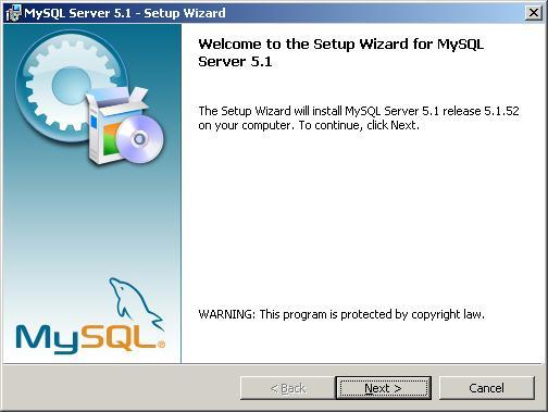 How to install mysql server 5. 1 on windows with screenshots.