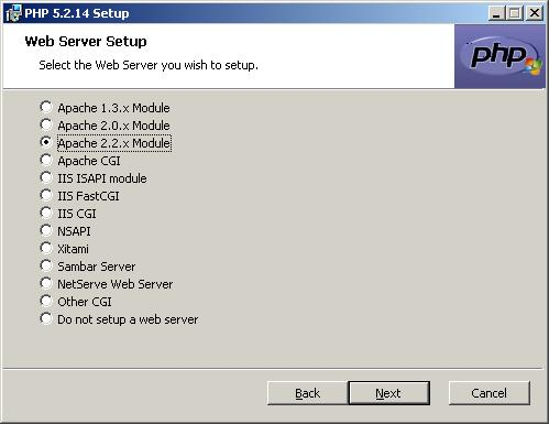 How to install PHP 5 server-side scripting language on