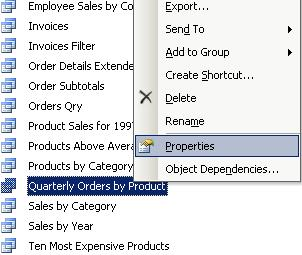 How to hide and unhide a MS Access object (Tables, Queries, Forms