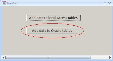 How to do database transaction processing by using MS Access
