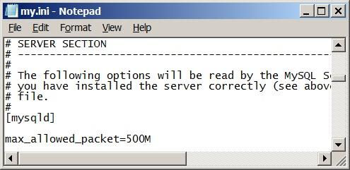 Using Bulk Insert Statement in MySQL