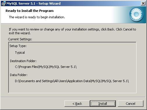 mysql database server 5.1.36